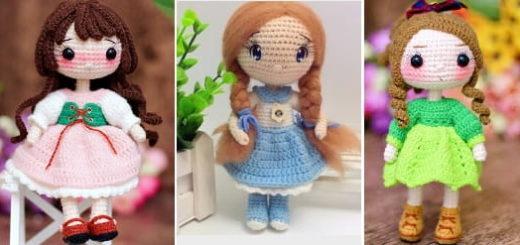 Куколка амигуруми. Описание вязания (2)