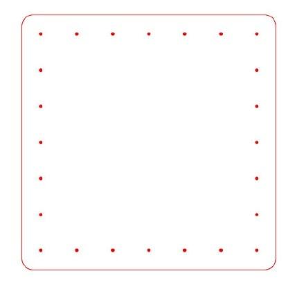 Прозрачная сумка из полиэтилена с обвязкой крючком (3)