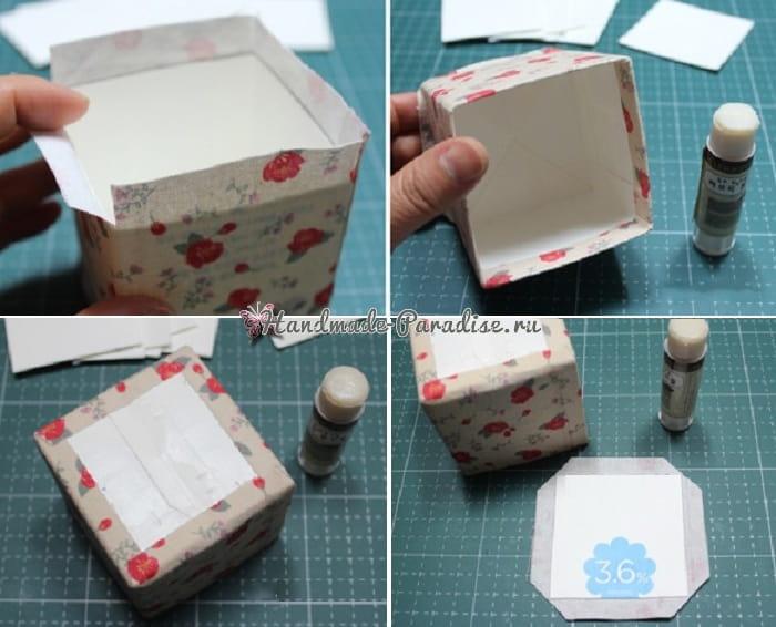 Винтажные коробочки из коробок от молока (2)