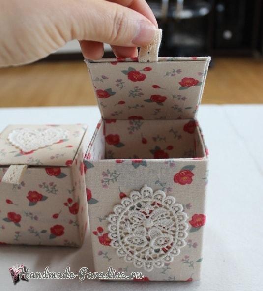 Винтажные коробочки из коробок от молока (5)