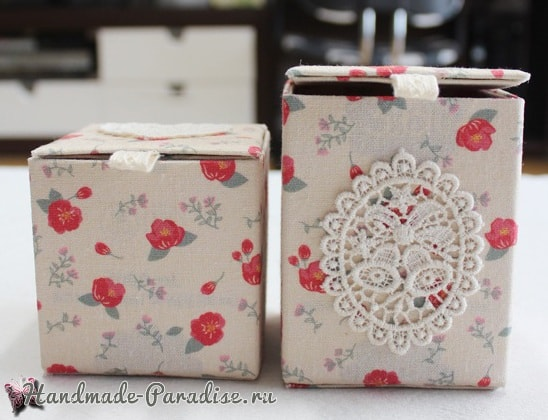 Винтажные коробочки из коробок от молока (7)