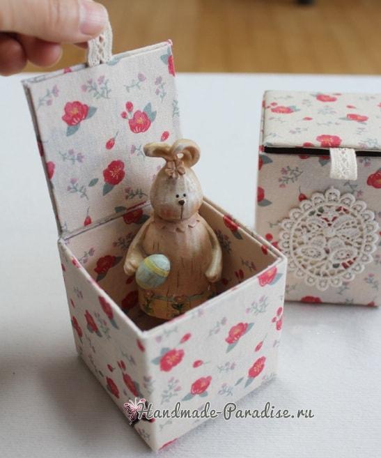 Винтажные коробочки из коробок от молока (8)