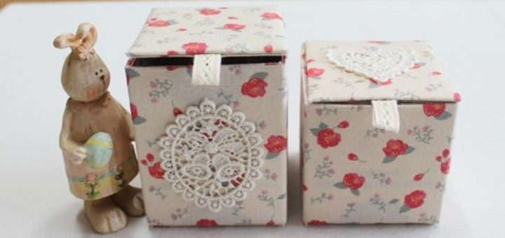 Винтажные коробочки из коробок от молока (9)