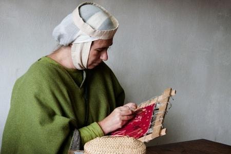 Вышивка лентами - одно из древнейших искусств (3)