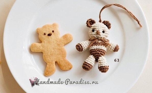 Зайка, собачка и медвежонок амигуруми (1)