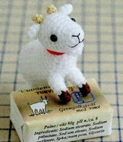 Корова, овечка и козлик амигуруми. Схемы (1)