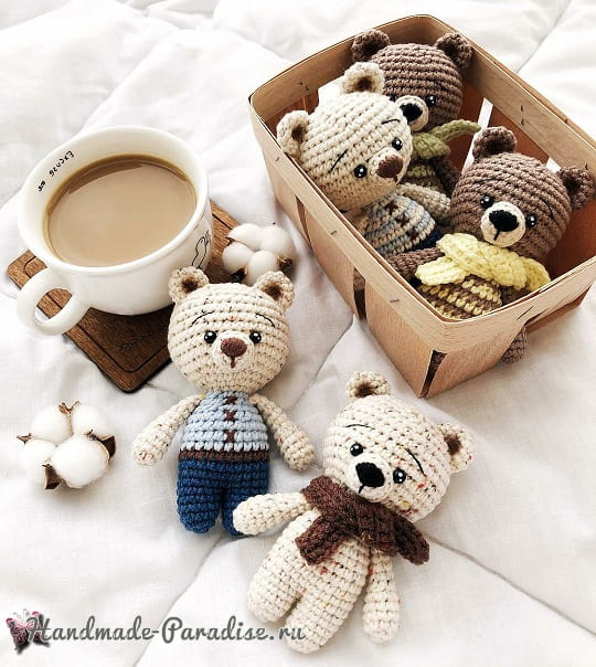 Amigurumi Bear. Description du tricot (1)
