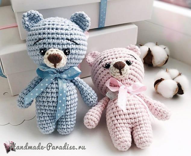 Медвежонок амигуруми. Описание вязания (3)