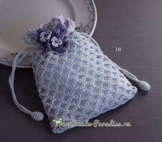 Мешочки крючком. Схемы вязания (1)