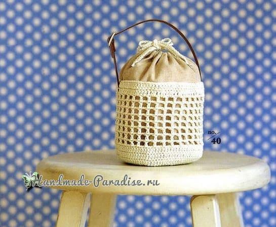 Мешочки крючком. Схемы вязания (2)