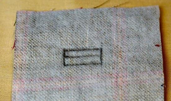 Обтачные петли для пуговиц. Мастер-класс (8)