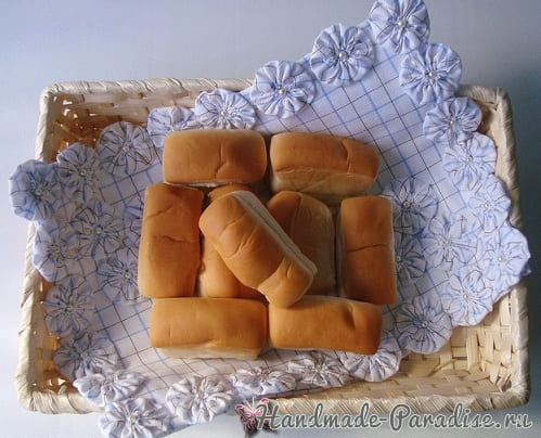 Шьем сами салфетку для хлебницы (7)