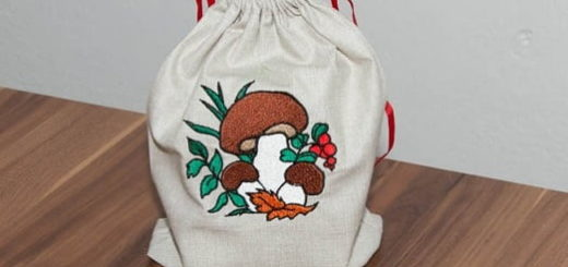 Вышиваем мешочек для хранения грибов (5)
