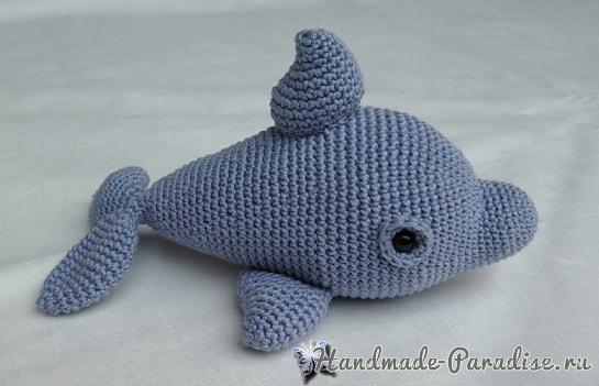Дельфин крючком. Описание вязания (1)