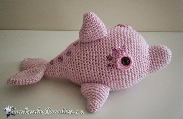 Дельфин крючком. Описание вязания (2)