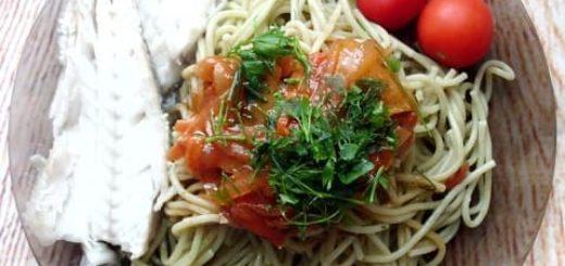 Диетическое велнес-меню с макаронами. Шпинатные спагетти MAKFA (2)