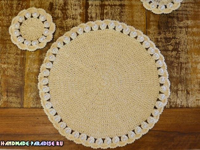 Красивые салфетки для сервировки стола (1)