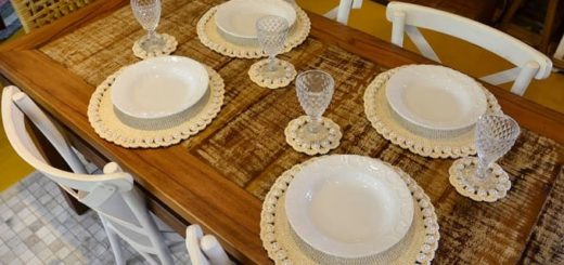 Красивые салфетки для сервировки стола (2)