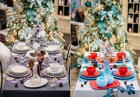 Новогодняя посуда в «Вилла Грация» (3)