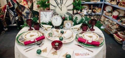 Новогодняя посуда в «Вилла Грация» (1)