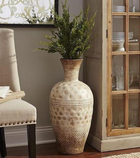 Напольные вазы — украшение интерьера городской квартиры и загородного дома (2)