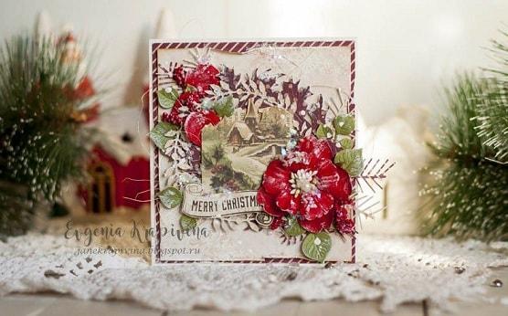 Новогодние открытки своими руками (2)