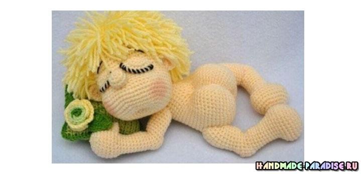 Малыш-сплюшка крючком. Описание вязания (1)