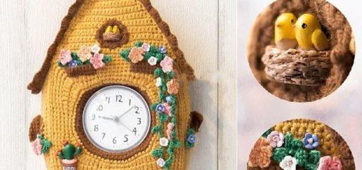 Настенные детские часы крючком (1)