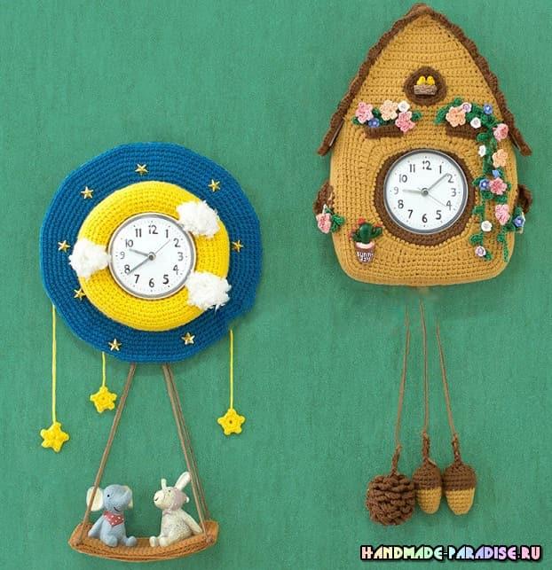 Настенные детские часы крючком (2)