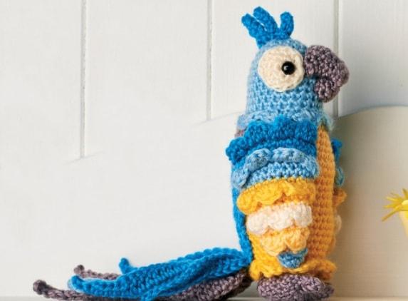 Попугай АРА крючком. Описание вязания (2)