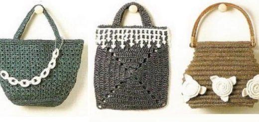 Вязание сумок из полиэтиленовой пряжи. Журнал (2)