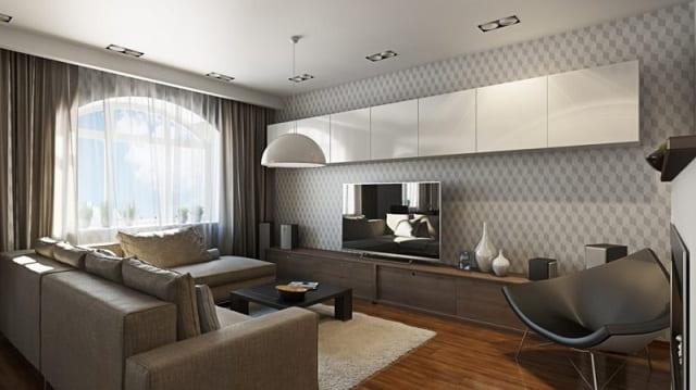 Как оформить гостиную в эксклюзивном и современном стиле (1)