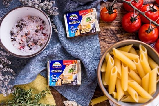 Паста с курицей в сливочно-сырном соусе (1)