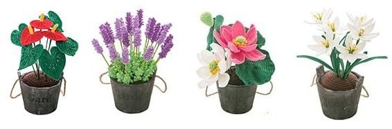 Цветы крючком - Антуриум (4)