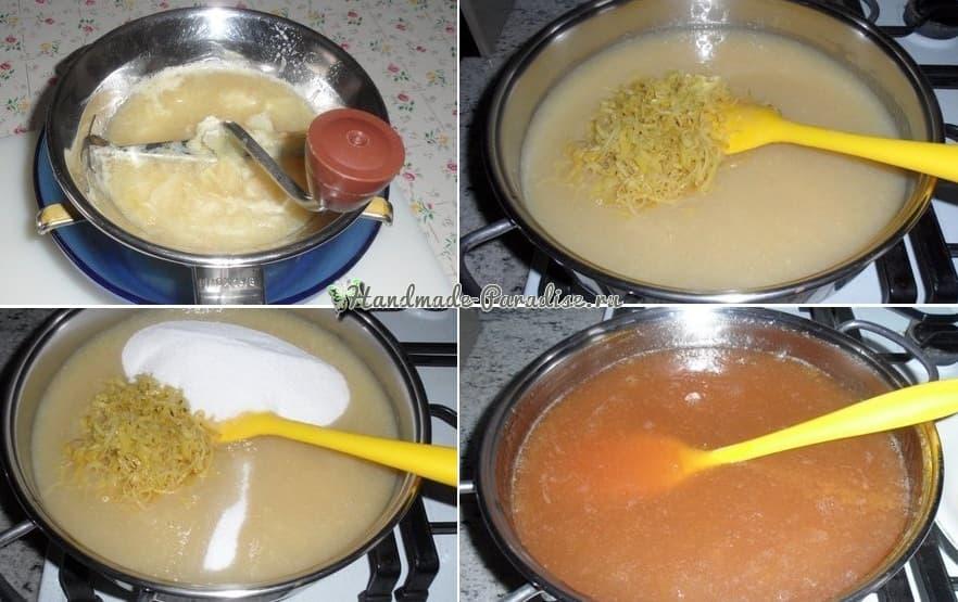Лимонный джем - вкусный рецепт (5)