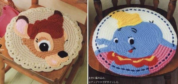 Сидушки-игрушки для детских стульев (1)
