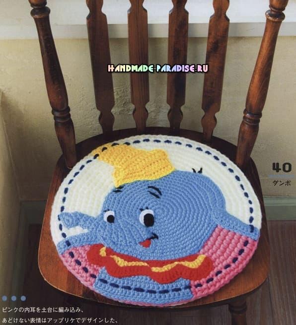Сидушки-игрушки для детских стульев (4)