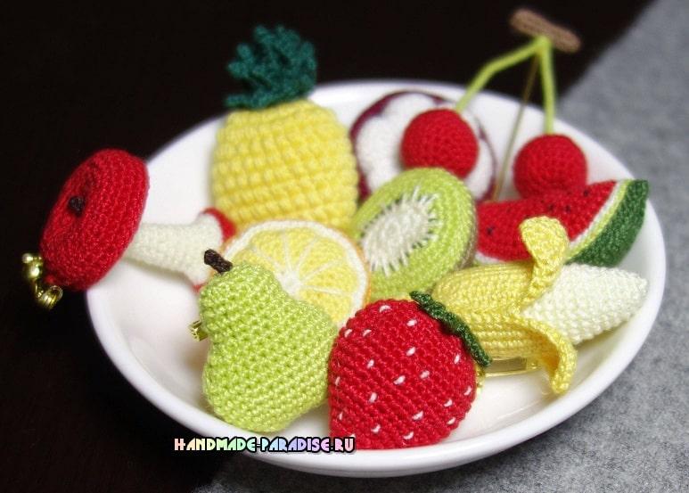 Вязаные крючком фрукты. Схемы (1)