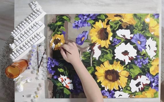 Картины по номерам в магазине товаров для творчества Artland (1)