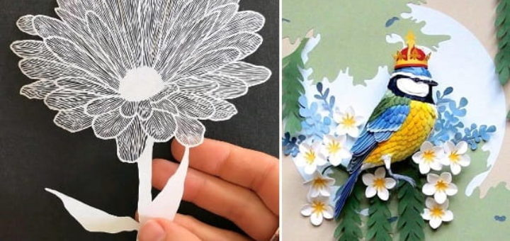 Вырезание из бумаги - бумажное искусство-терапия (2)
