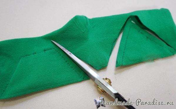 Новогодняя елочка из носков (2)