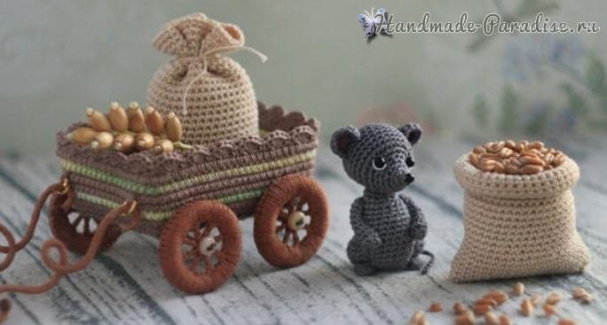 Вязание крючком и спицами игрушек и кукол