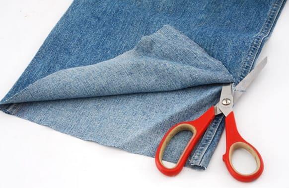 Подушки-игрушки из старых джинсов (2)