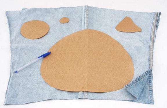 Подушки-игрушки из старых джинсов (3)