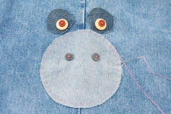 Подушки-игрушки из старых джинсов (5)