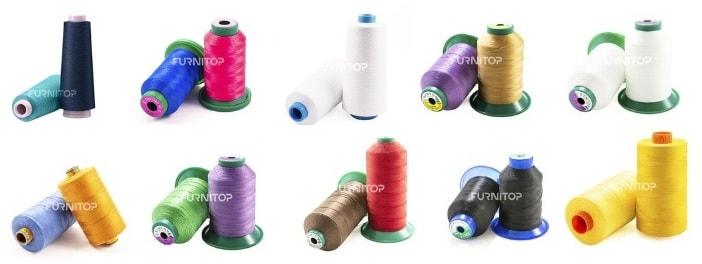 Ткани и нитки для швейных машин от компании Фурнитоп