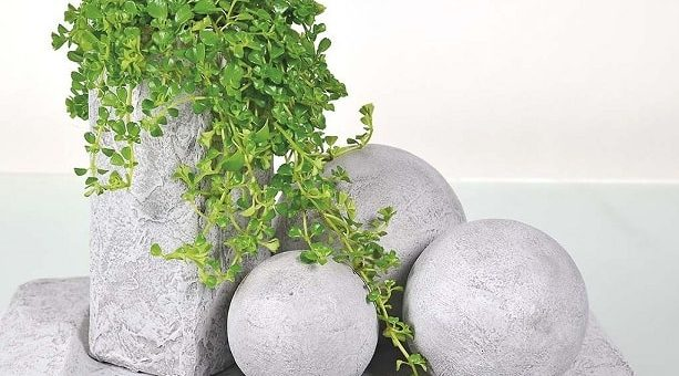 Бетонные шары своими руками для интерьера (2)