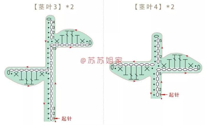 Сумочка-мешок с аппликацией из вязаных цветов (4)