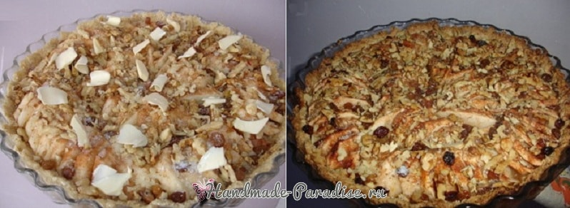 Яблочный тарт с карамельным соусом (1)