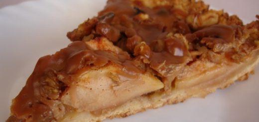 Яблочный тарт с карамельным соусом (2)